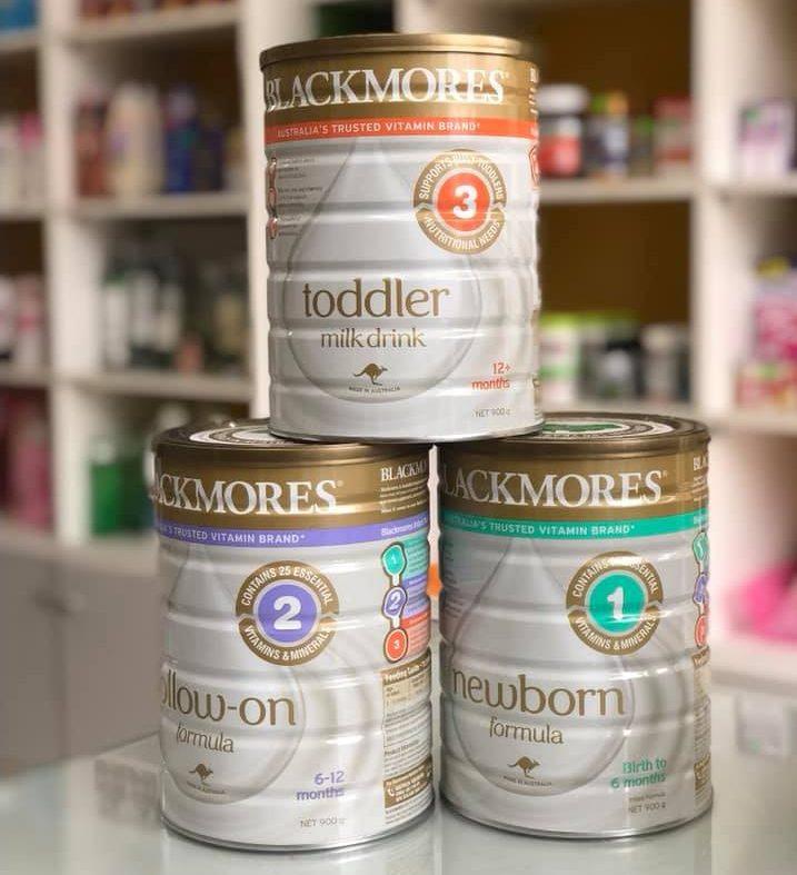 Sữa Blackmores số 1 cho trẻ sơ sinh