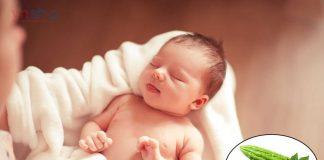 Cách tắm cho trẻ sơ sinh bằng mướp đắng
