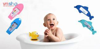 Nhiệt độ nước tắm cho trẻ sơ sinh