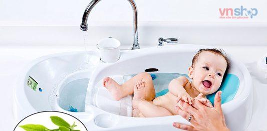 Cách tắm lá trà xanh cho trẻ sơ sinh