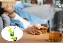 Cách pha nước chanh giải rượu