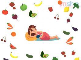 các loại rau củ quả tốt cho bà bầu và thai nhi