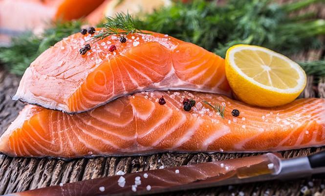 5 cách chế biến cá hồi cho bà bầu