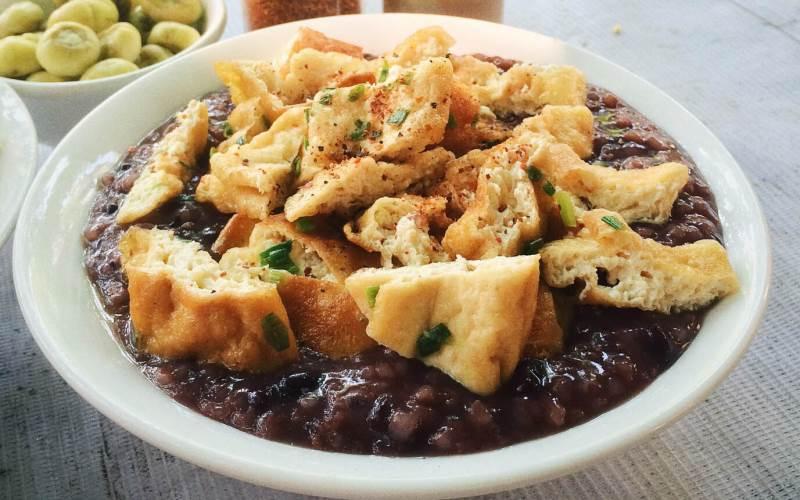 Cháo đậu- món ăn giải ngấy ngày tết