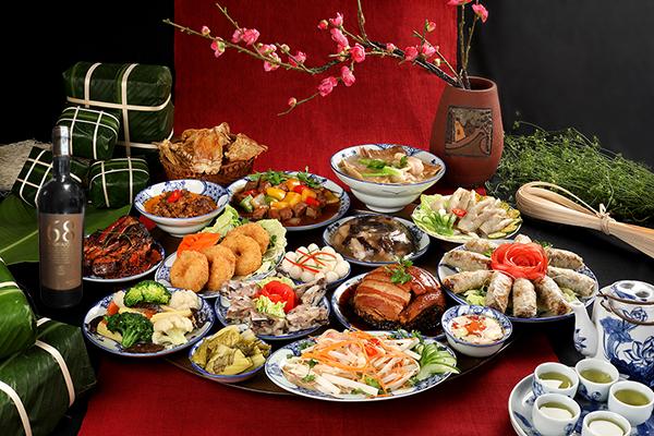 Trang trí món ăn ngày Tết