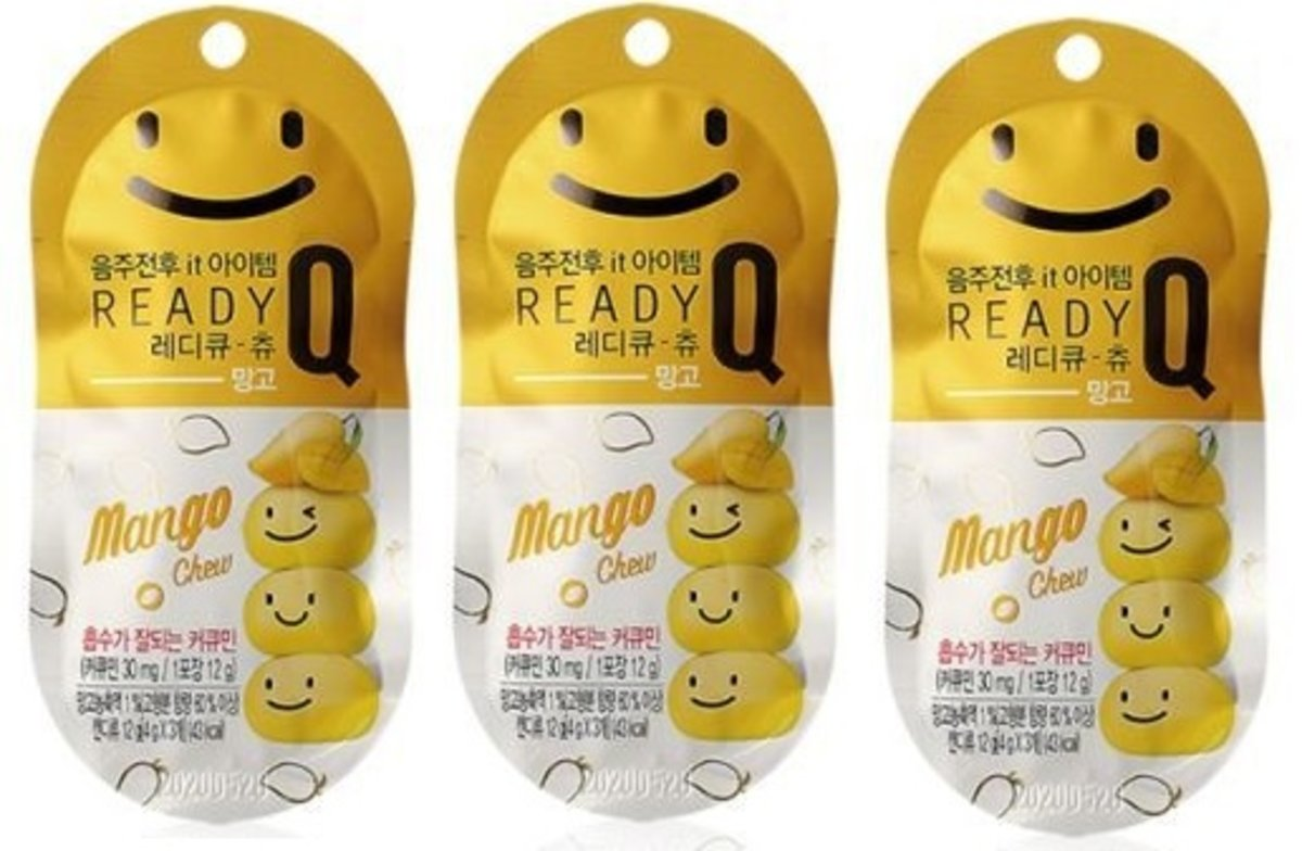 Kẹo giải rượu Hàn Quốc Ready Q-10