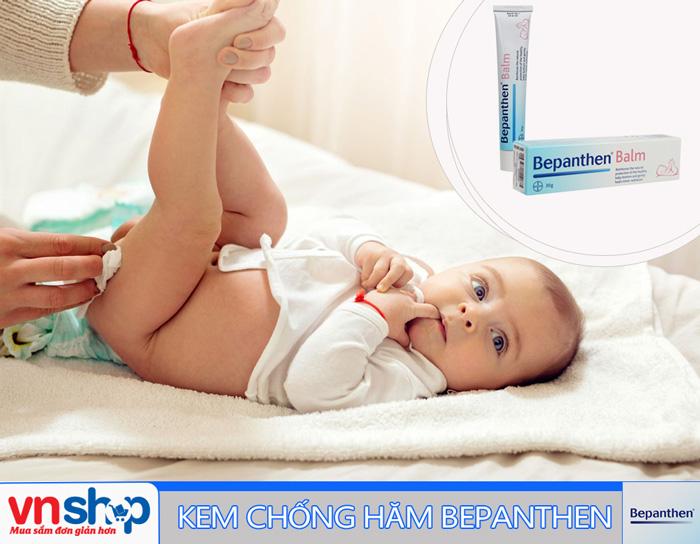 Kem chống hăm Bepanthen sản phẩm trị hăm hiệu quả cho bé