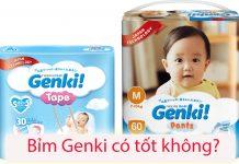 Bỉm Genki có tốt không? 8 ưu điểm của bỉm Genki