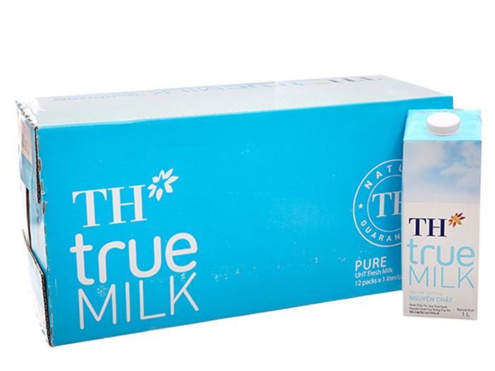 Sữa tươi tiệt trùng nguyên chất không đường TH True Milk đạt nhiều chứng nhận an toàn cho sức khỏe