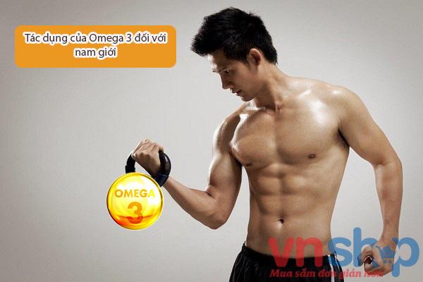 Tác dụng của Omega 3 với nam giới