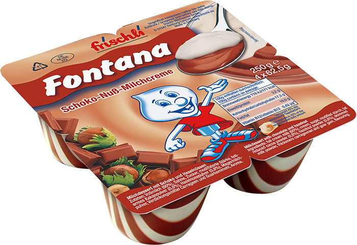 Váng sữa Fontana với hương vị thơm ngon đặc biệt
