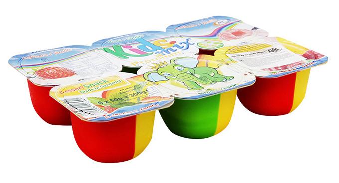 Váng sữa hoa quả Kids Mix với hương vị hoa quả rất tốt cho sức khỏe