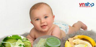 Các loại nước ép rau củ cho bé