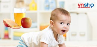 Cách làm nước ép táo cho bé