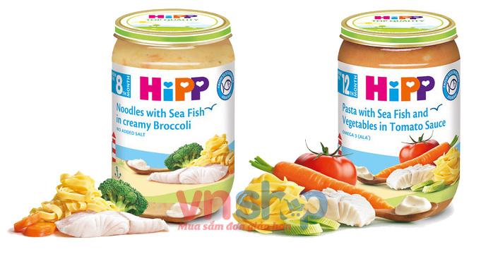 Lọ dinh dưỡng với cá-Dinh dưỡng đóng lọ HiPP có tốt không?
