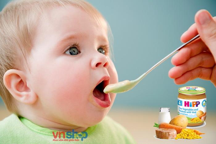 Dinh dưỡng đóng lọ HiPP có tốt không?