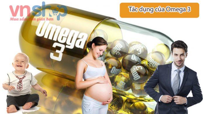 Omega 3 là gì? Tác dụng của Omega 3