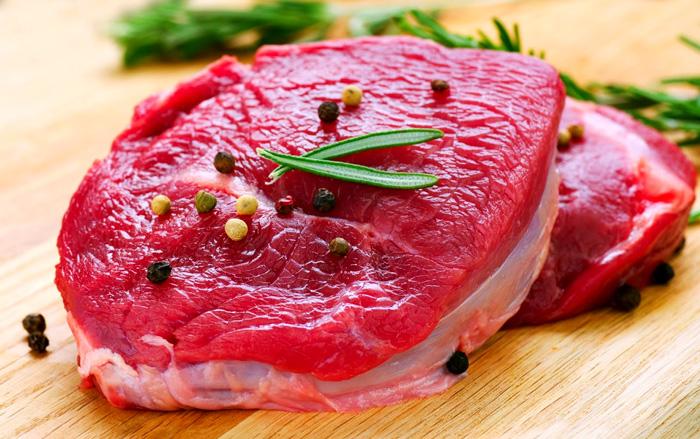 Thành phần dinh dưỡng của thịt bò