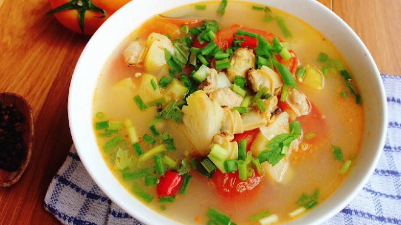 Các món ăn giải nhiệt mùa hè dễ làm - canh chua