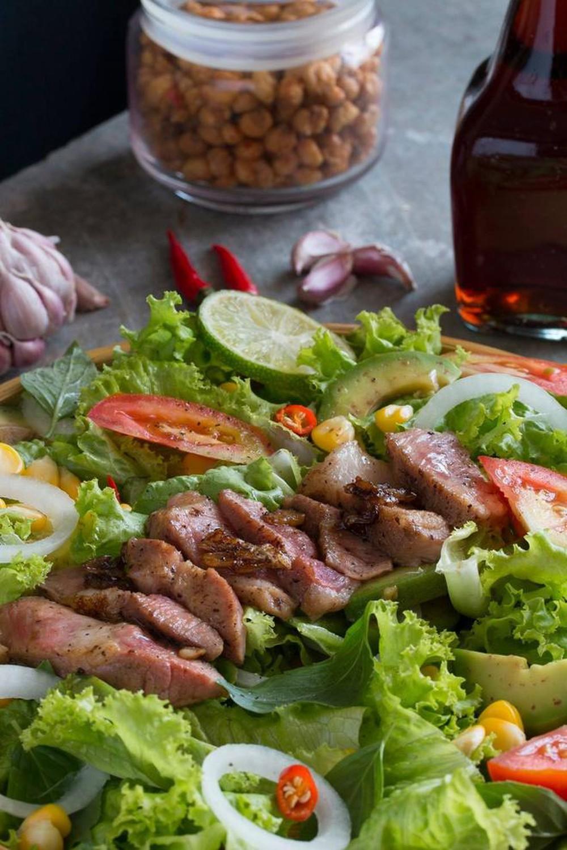Các món ăn giải nhiệt mùa hè dễ làm - salad bơ