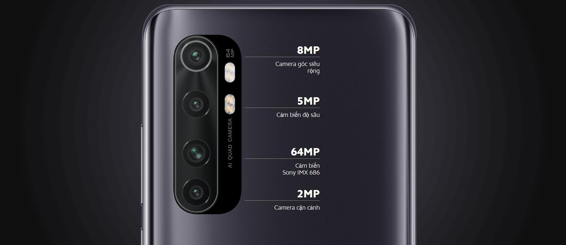 Mi Note 10 Lite - Camera