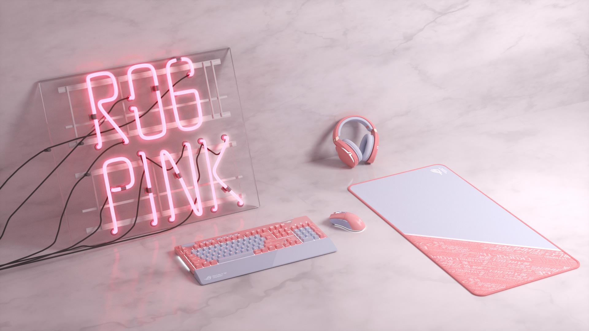 ROG PINK - Yêu màu hồng ghét sự giả dối