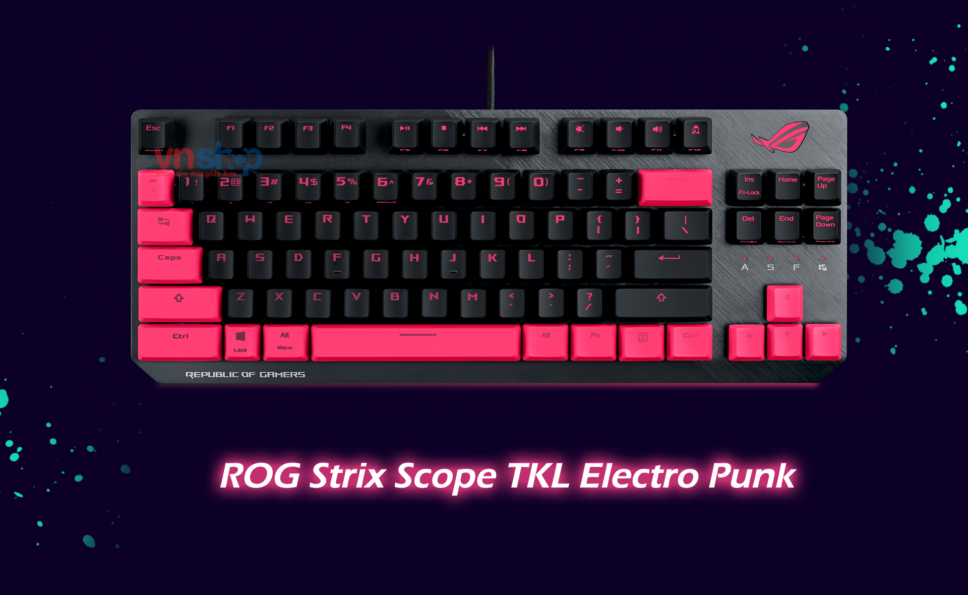 ROG Strix Scope TKL Electro Punk