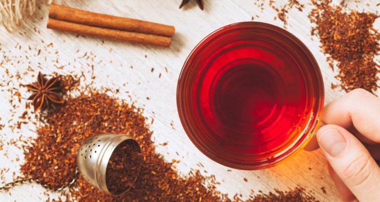 trà rooibos giải nhiệt trị mụn