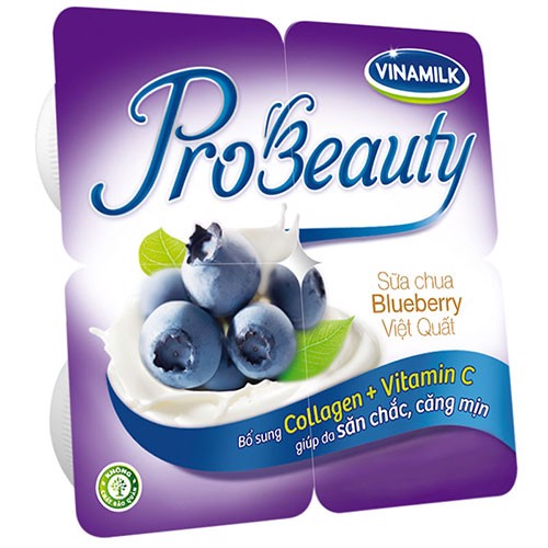Sữa chua ăn Vinamilk Probeauty vị việt quất