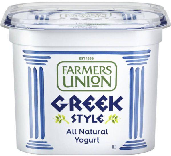Sữa chua dẻo kiểu Hy Lạp FARMERS UNION