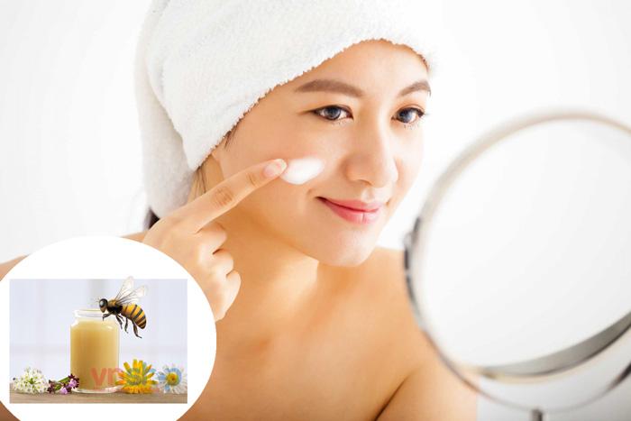 Tác dụng của sữa ong chúa với da mặt - Sữa ong chúa có tác dụng gì?