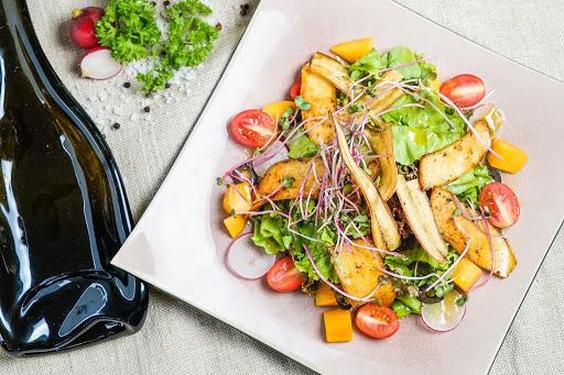 các món ăn chay đãi tiệc - salad xoài nấm