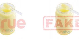 4 cách phân biệt sữa ong chúa thật và giả