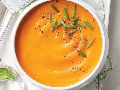 nấu súp cà rốt và táo bằng nồi instant pot