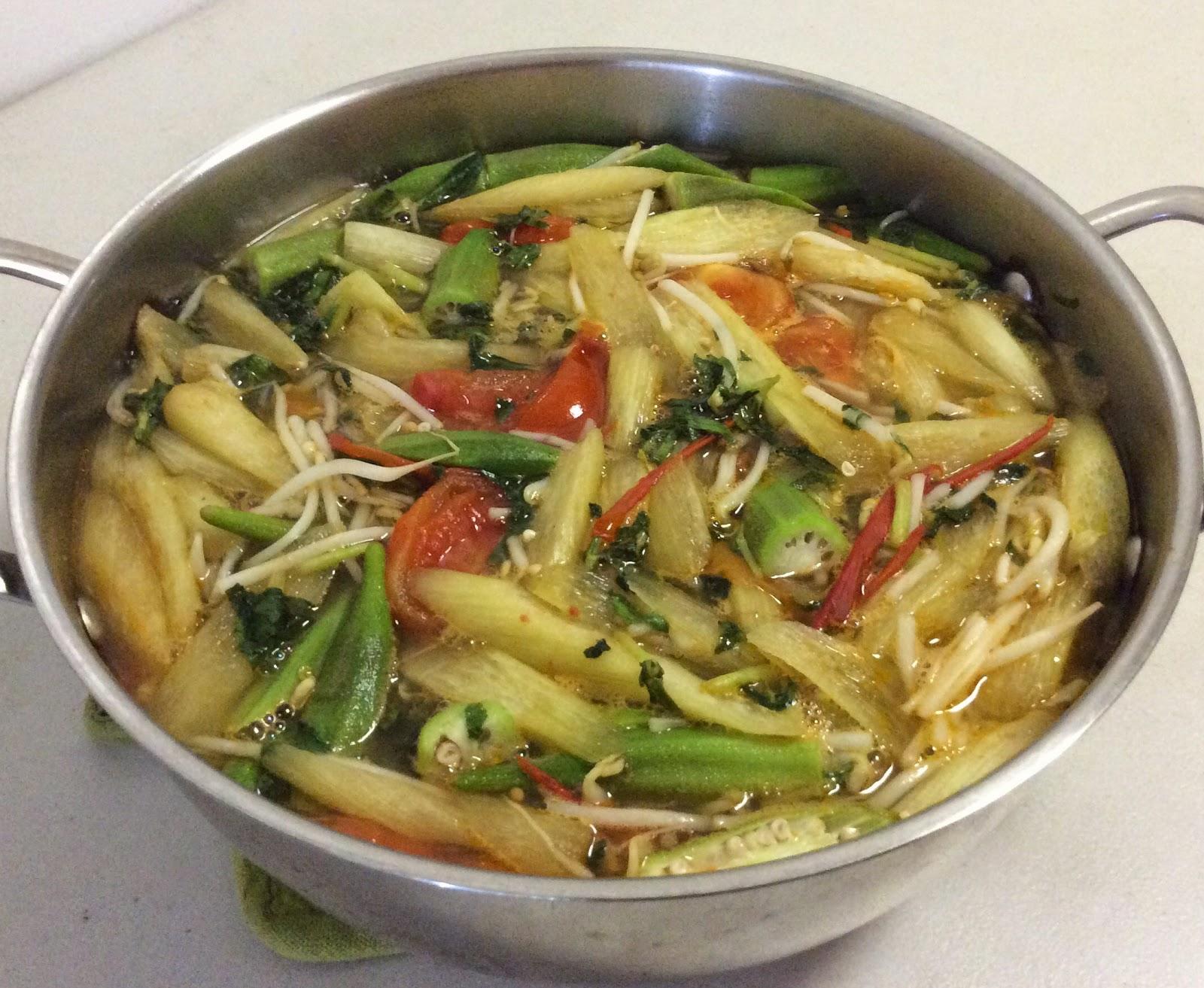 món ăn chay giảm cân - canh chua