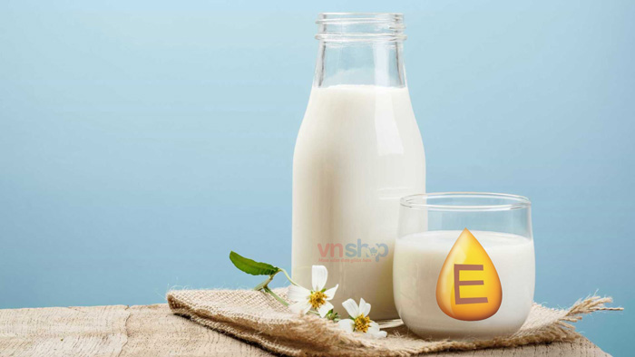 Mặt nạ sữa tươi vitamin E