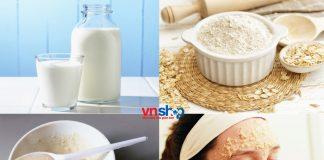 7 loại mặt nạ sữa tươi không đường - Phần 2