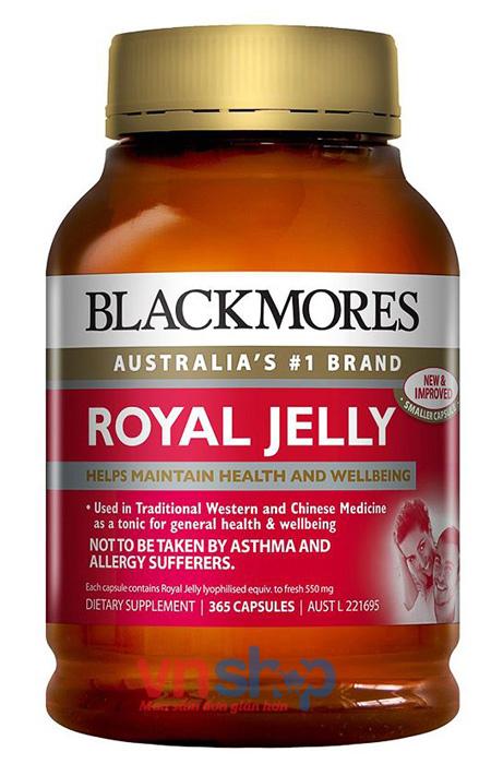 Sữa ong chúa Úc Blackmore