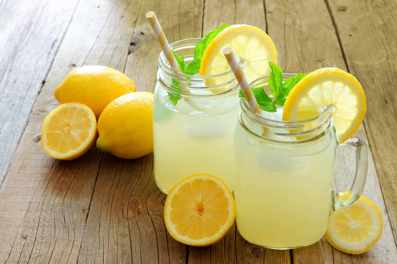 thức uống giải nhiệt mùa hè - nước chanh