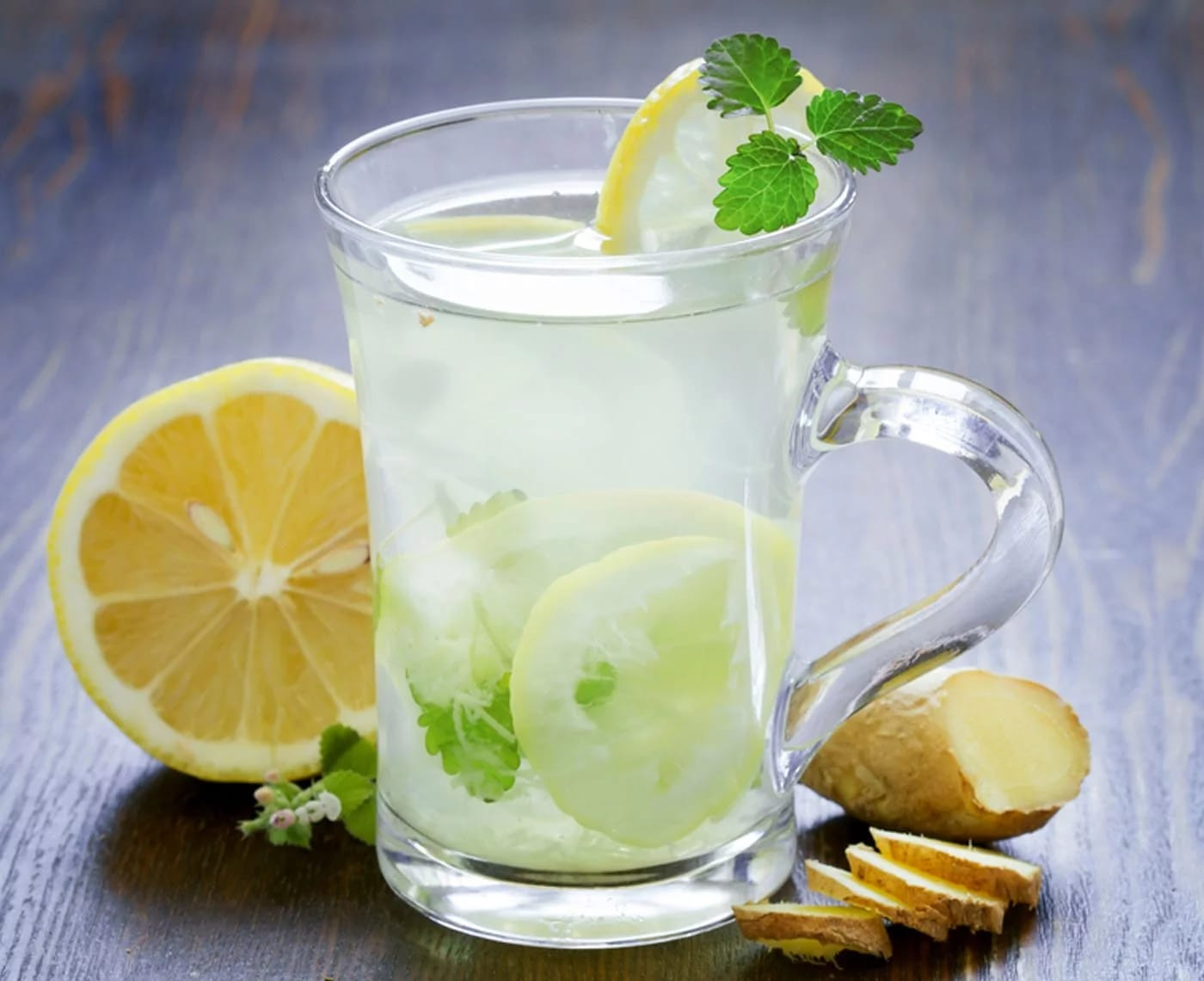 thức uống giải nhiệt mùa hè - soda chanh dưa chuột