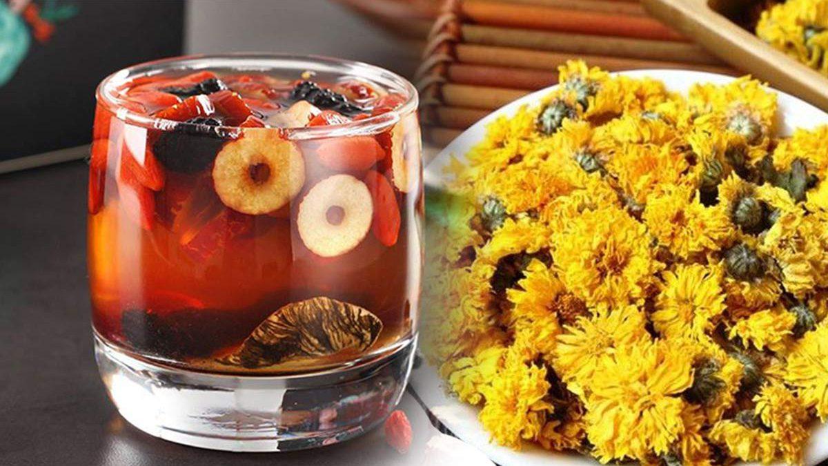 trà thanh nhiệt giải độc - trà táo đỏ