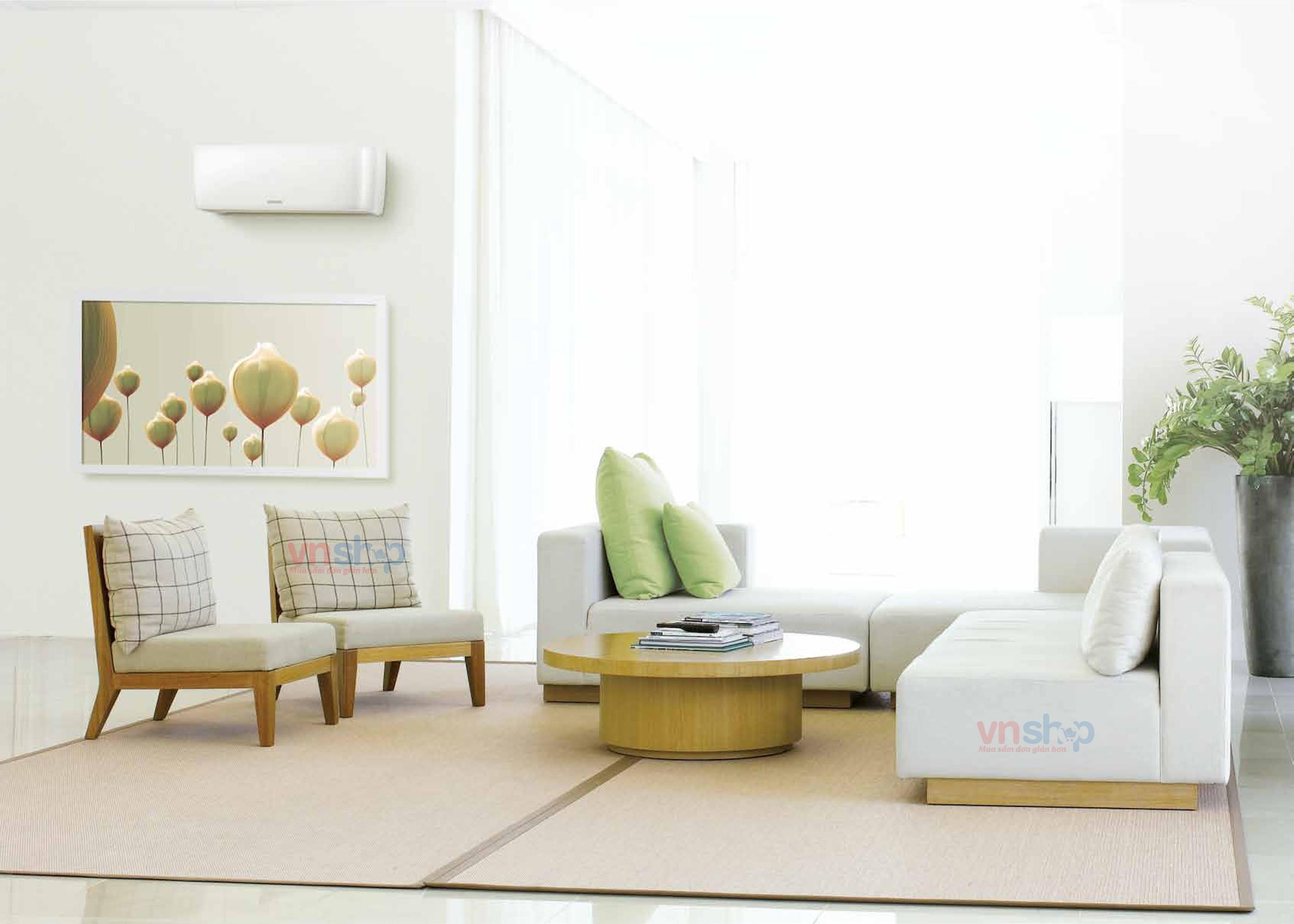 Vị trí điều hòa trong phòng khách