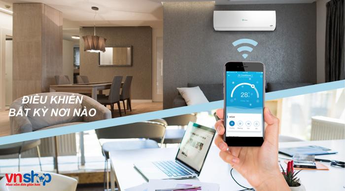 Công nghệ điều khiển điều hòa bằng Wifi