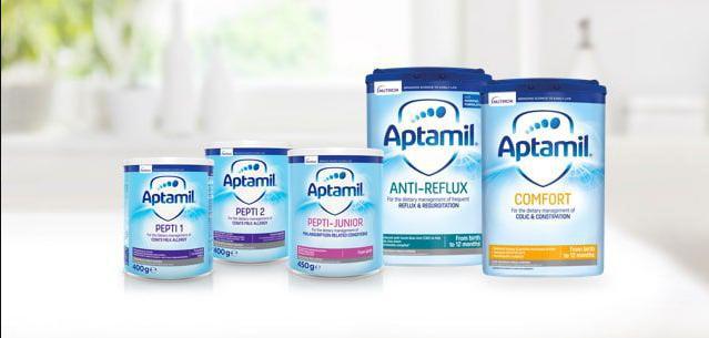 Aptamil specialist milks (0-12 months)