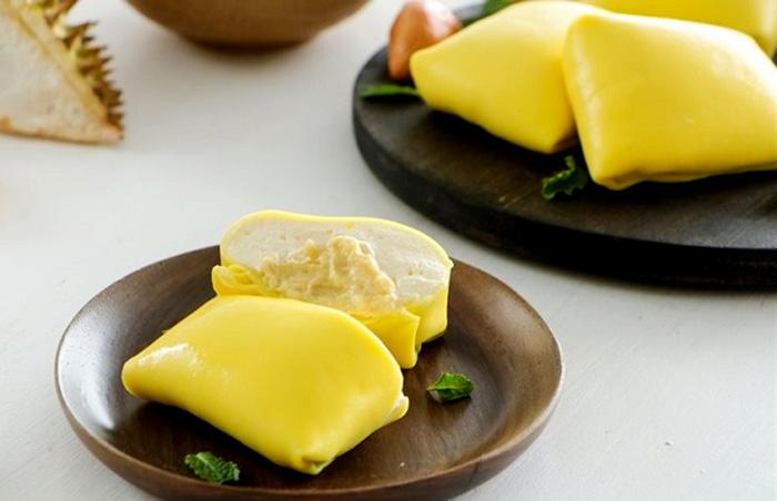 Bánh Crepe sầu riêng thơm ngon được rất nhiều phụ nữ có thai yêu thích