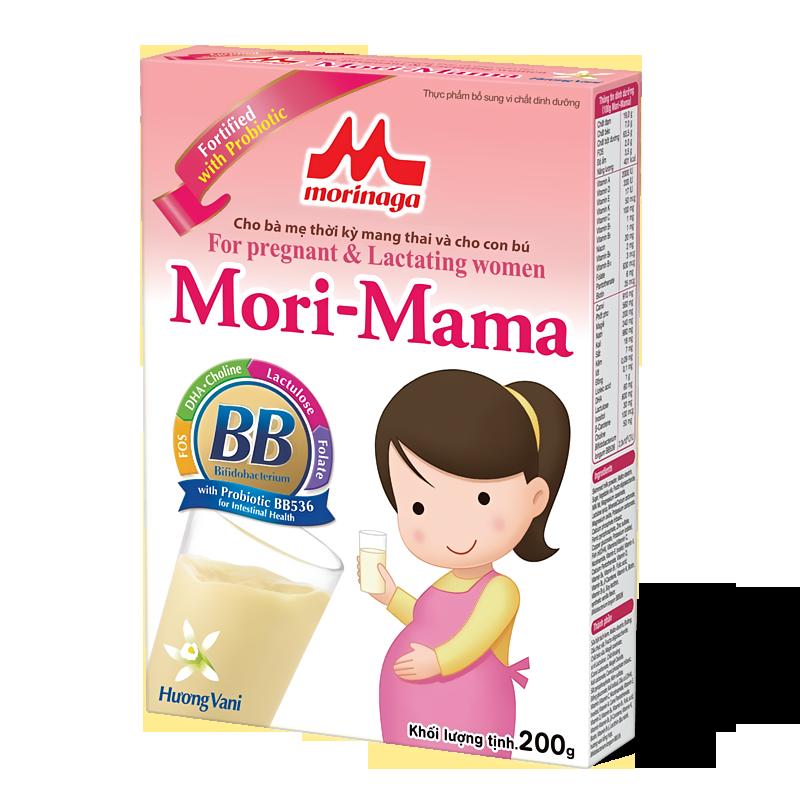 Mori-Mama (Cho bà mẹ thời kì mang thai và cho con bú)