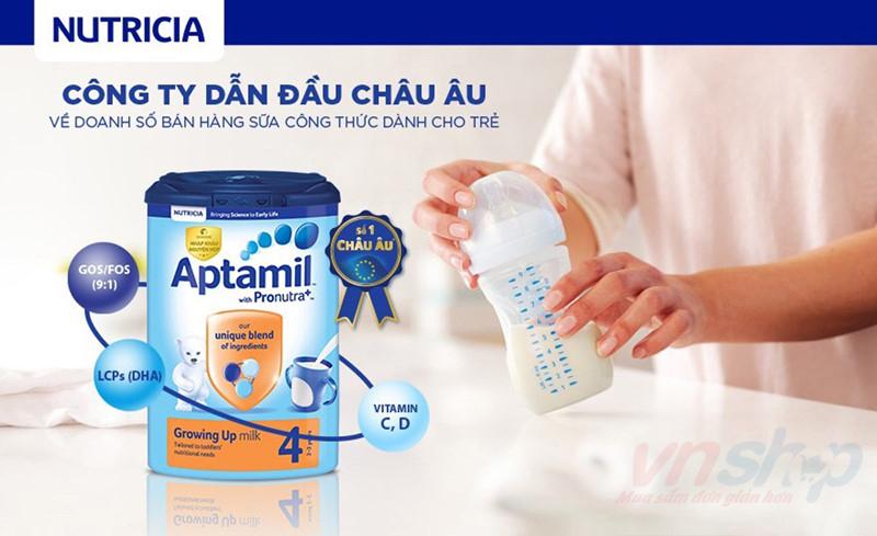 Sữa Aptamil có tăng cân tốt không và những điều cần biết về Aptamil-1