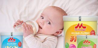 Sữa Morinaga tăng cân cho bé