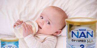 Sữa Nan Nga có tăng cân không - Những điều cần biết khi lựa chọn sữa Nan cho trẻ em