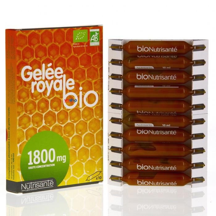 Hình ảnh sữa ong chúa Pháp Gelee Royale Bio 1800mg